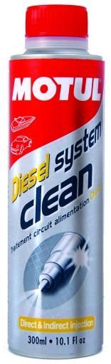Присадка в дизельное топливо Motul Diesel System Clean Auto 300мл - фото 3