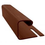 Планка J 1/2 BORYSZEW коричневый, шоколадный, фото 2