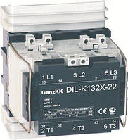 DL- K132Х 132KBт/250A, АС-3, 400B контактор Ganz KK