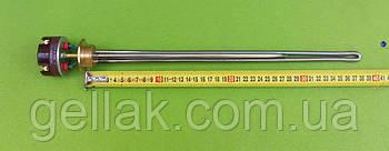 """Тен нержавійка для алюмінієвої батареї 1000W (Туреччина) різьба 1"""" з італійським термостатом Reco з термозахистом"""