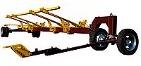 Универсальная двуосная тележка «Carrello 2 axes» для транспортировки жаток весом до 5 тонн
