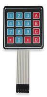 Клавиатура Мембранная 16 кнопок (4х4), скотч