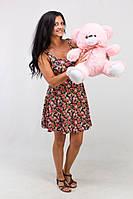 Плюшевый медведь Томми розовый (50 см)