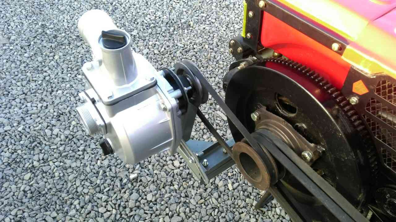 Помпа навесная для тяжелого мотоблока (50 мм)