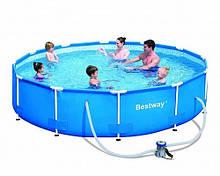 Бассейн каркасный Bestway (56416) 366*76 с фильтр-насосом