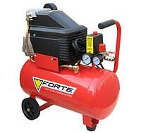 Компрессор поршневой с прямым приводом Forte FL-24