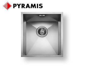 Pyramis - мойки подстольного монтажа илив один уровень со столешницей