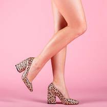 Туфли женские Леопард натуральная кожа  Размеры 36-41, фото 3