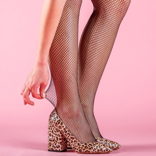 Туфли женские Леопард натуральная кожа  Размеры 36-41