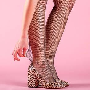 Туфлі жіночі Леопард натуральна шкіра Розміри 36-41, фото 2