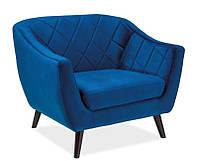 Кресло Molly Velvet 1( синий, зеленый,серый)(Signal)