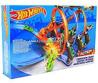 Игровой трек «Hot wheels» (Хот вилс) - Невероятные виражи FTB65