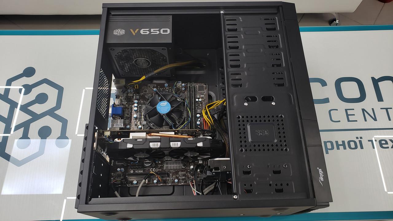 """Игровой ПК i5 3470/8GB/GTX1060 3GB/500GB/450W """"Over-Stock"""" Б/У"""