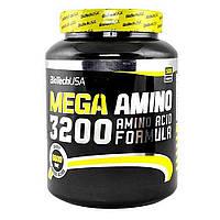 Аминокислота BioTech Mega Amino 3200 500 таблеток