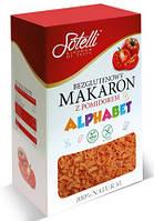 Безглютеновые Макароны Sotelli Alphabet томат 400 г