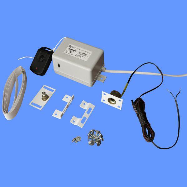 Комплекты электрических замков для одно/двудхверных холодильных шкафов с ситемой ДУ