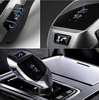 Автомобильный ФМ модулятор FM трансмиттер MP3 FM USB SD LCD X5, фото 1
