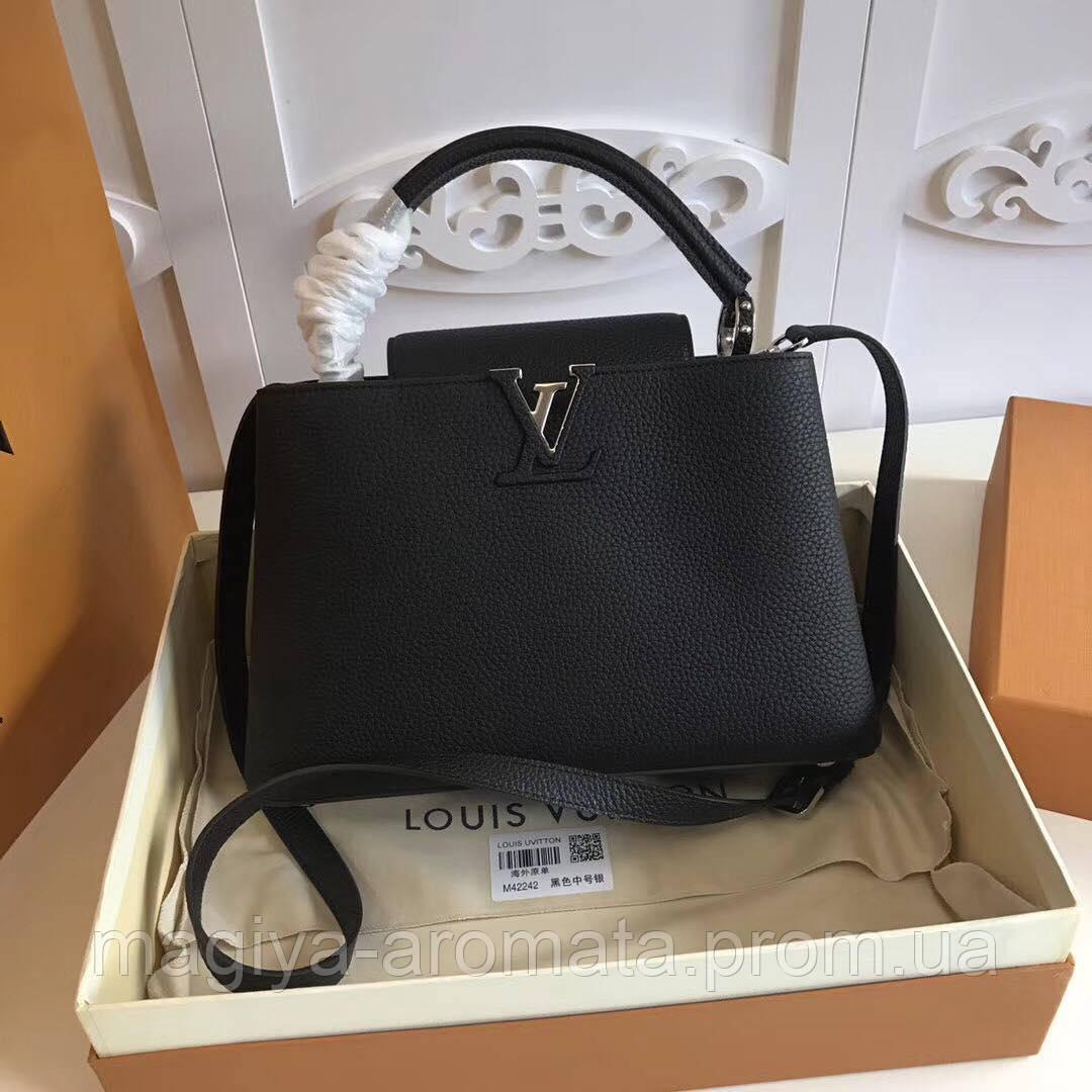 77483e568ce2 Женская сумка Louis Vuitton Capucines Original quality Зеркальная реплика