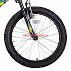 Детский велосипед Kinetic Coyote 20 дюймов черно-желтый, фото 3
