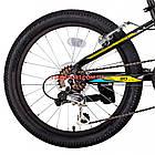 Детский велосипед Kinetic Coyote 20 дюймов черно-желтый, фото 6