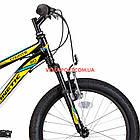 Детский велосипед Kinetic Coyote 20 дюймов черно-желтый, фото 2