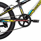 Детский велосипед Kinetic Coyote 20 дюймов черно-желтый, фото 5