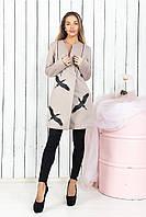 Женское стильное пальто  МБ144 (норма)