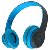 Беспроводные наушники Bluetooth / microSD MDR P47 синий