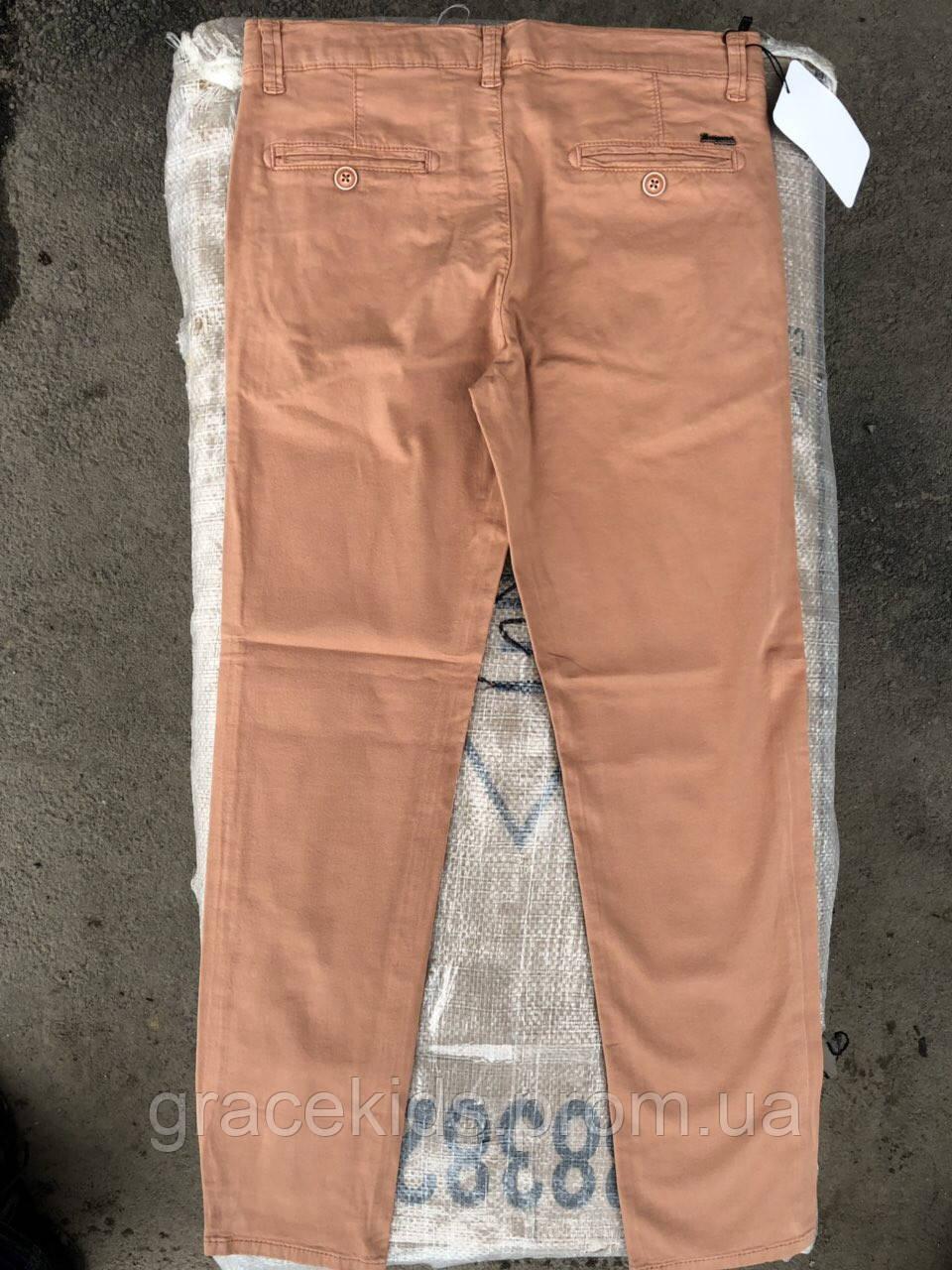 Подростковые котоновые штаны для мальчиков,разм 11-15 лет