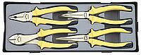 Набор шарнирно-губцевого инструмента 4ед. FORCE T5046.