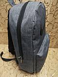 Рюкзак NIKE мессенджер 300D спорт спортивный городской стильный Школьный рюкзак только опт, фото 4