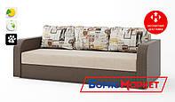 Диван Baltika Matroluxe 1-Hollywood-17 LN, 2-Брайтон 09 Dk.Brown, 3-Print 3