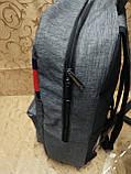 Рюкзак tommy Томми мессенджер 300D спорт спортивный городской стильный Школьный рюкзак только опт, фото 3