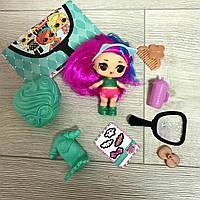 Кукла ЛОЛ Сюрприз 5 серия с волосами. Люкс качество. L.O.L. Surprise Makeover Series