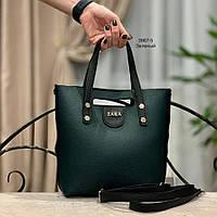 Женская сумка ZARA кожзам разные цвета Код3867