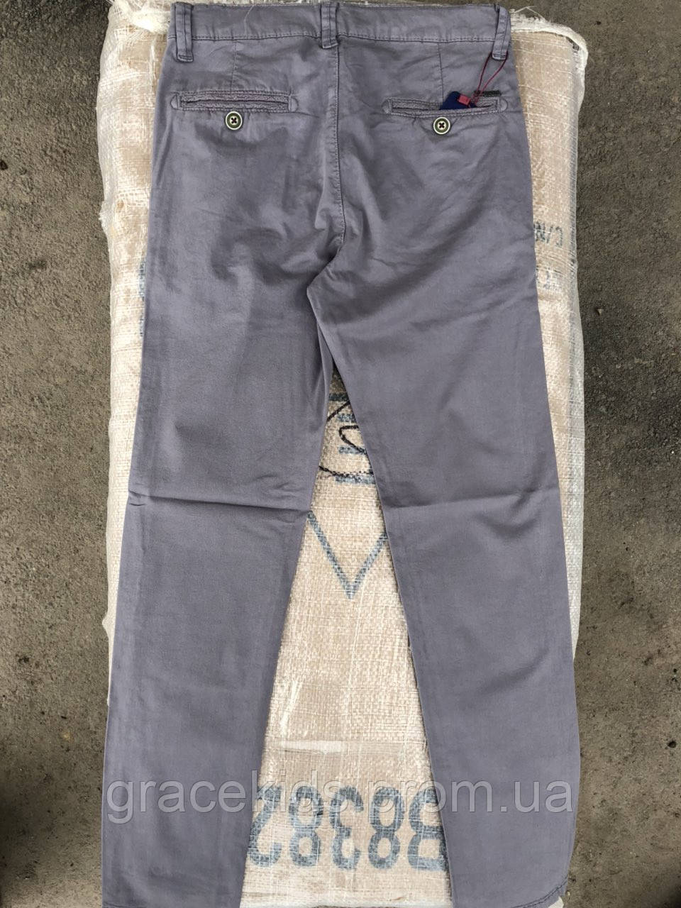 Котоновые подростковые брюки оптом для мальчиков,разм 11-15 лет