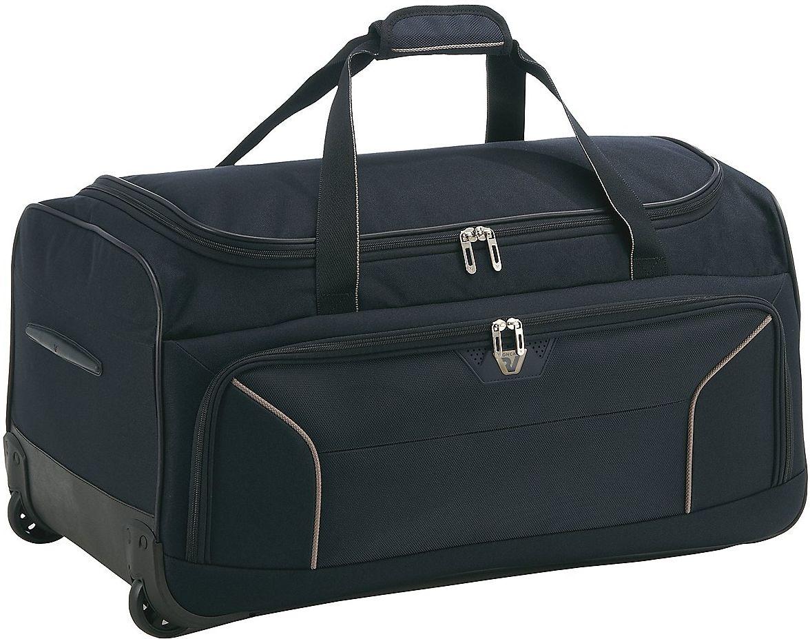 Дорожная практичная сумка средняя на 2-х колесах  68 л. Roncato Ready 3304/23 темно-синий