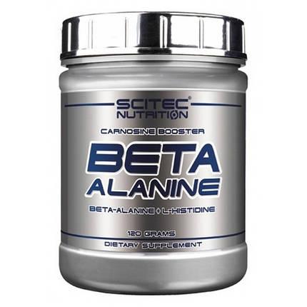 Аминокислота Scitec Nutrition Beta Alanine 120 г, фото 2