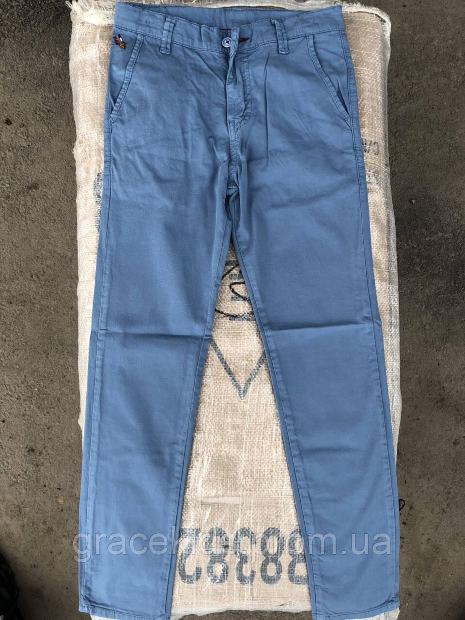 Цветные котоновые штаны оптом для мальчиков Cool Finash.разм 11-15 лет