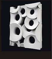 Гипсовые  3D перегородки «Кольца»