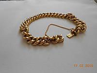 Старинный золотой браслет