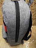 Рюкзак tommy Томми мессенджер 300D спорт спортивный городской стильный Школьный рюкзак, фото 3
