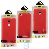 Чехол силиконовый SMTT Apple iPhone 6 Plus красный