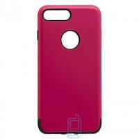 Чехол-накладка Motomo X1 Apple iPhone 7 Plus, 8 Plus малиновый