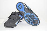Кроссовки детские Bona 493Д-11 чёрные нубук