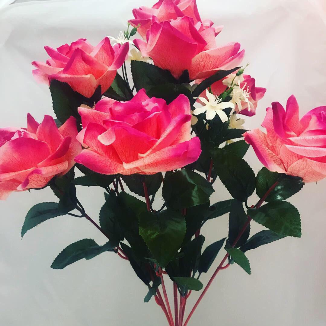 Искусственная роза (60 см)