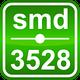 Синяя SMD3528 (120 LED/м) 465-470nm (9,6W/м)  IP64 Outdoor Rishang, фото 6