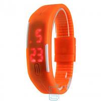 Часы наручные LED Watch A001 оранжевые