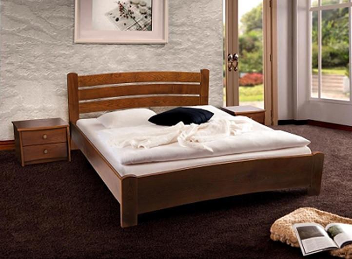 Кровать София 1,60 м.(ассортимент цветов) (Ольха)