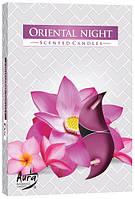 Свеча чайная ароматизированная Bispol Восточная ночь 1.5 см 6 шт (p15-272)